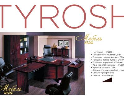 Кабинет руководителя TYROSH (Тирош)